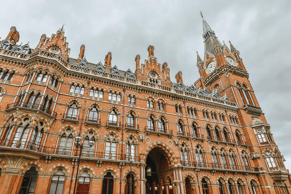 London-Bahnhof
