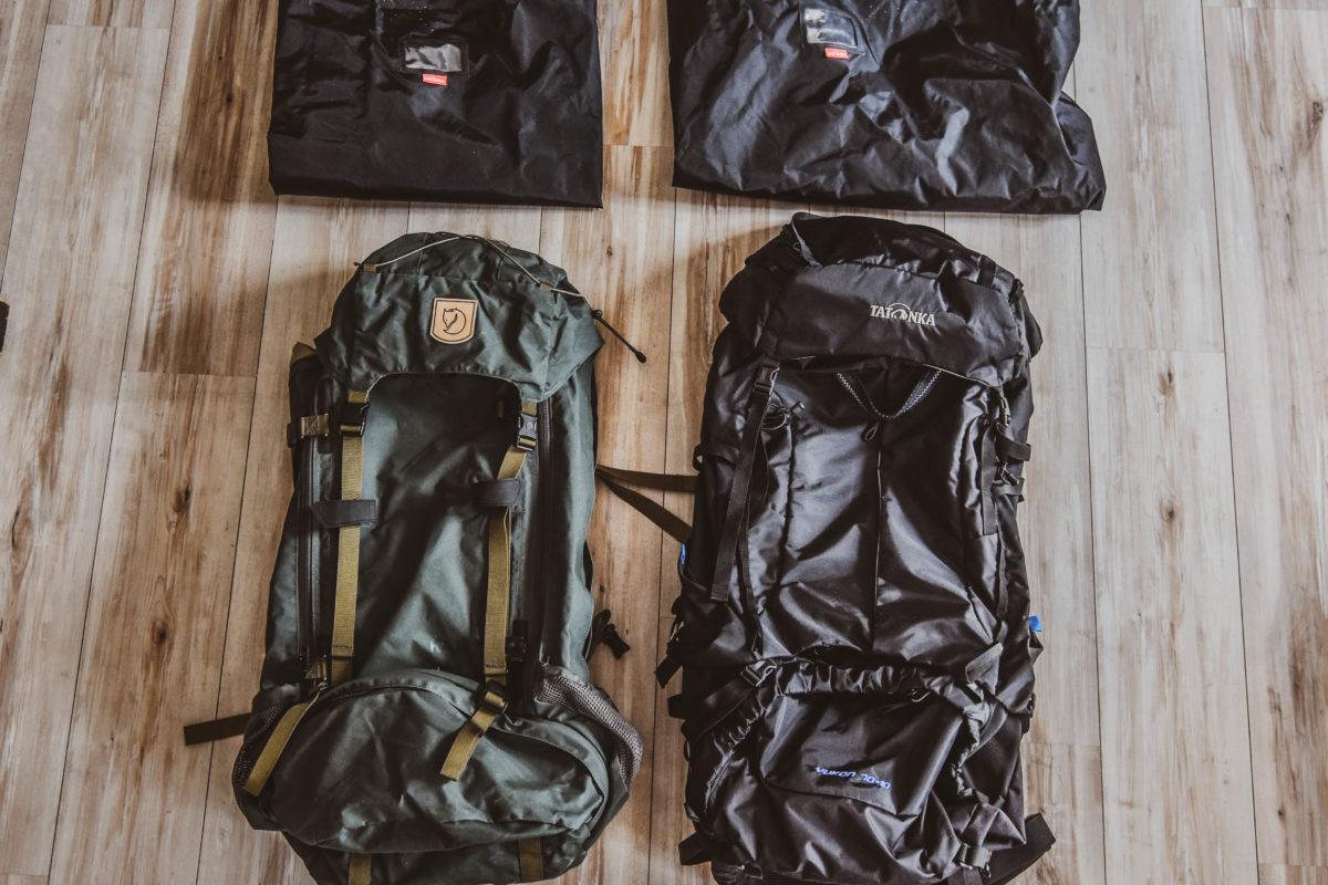 Packliste Rucksäcke