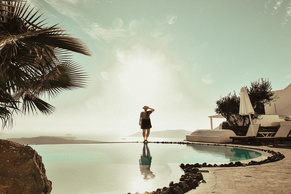 Santorini Aussicht 1