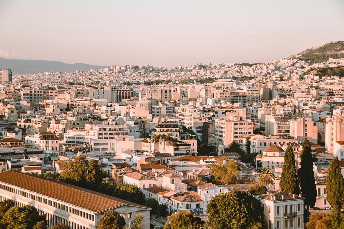 Athen Aussicht