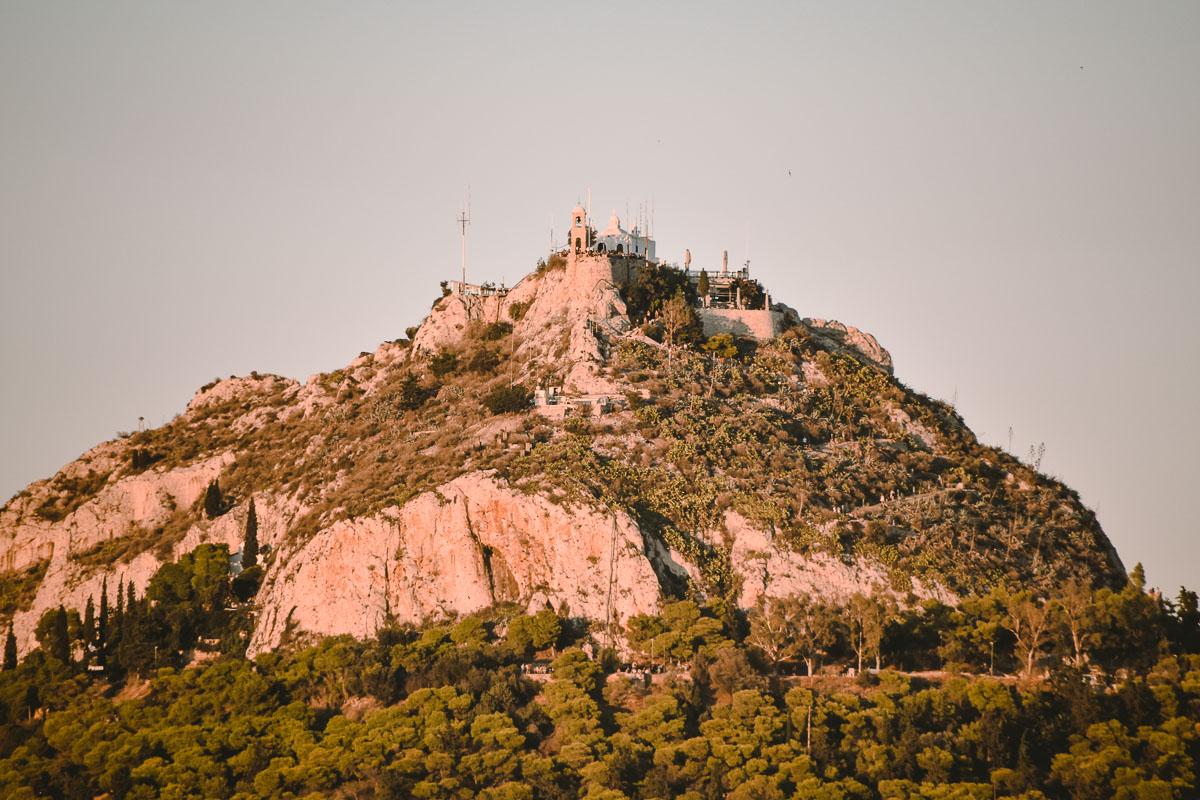 Athen Aussichtsberg