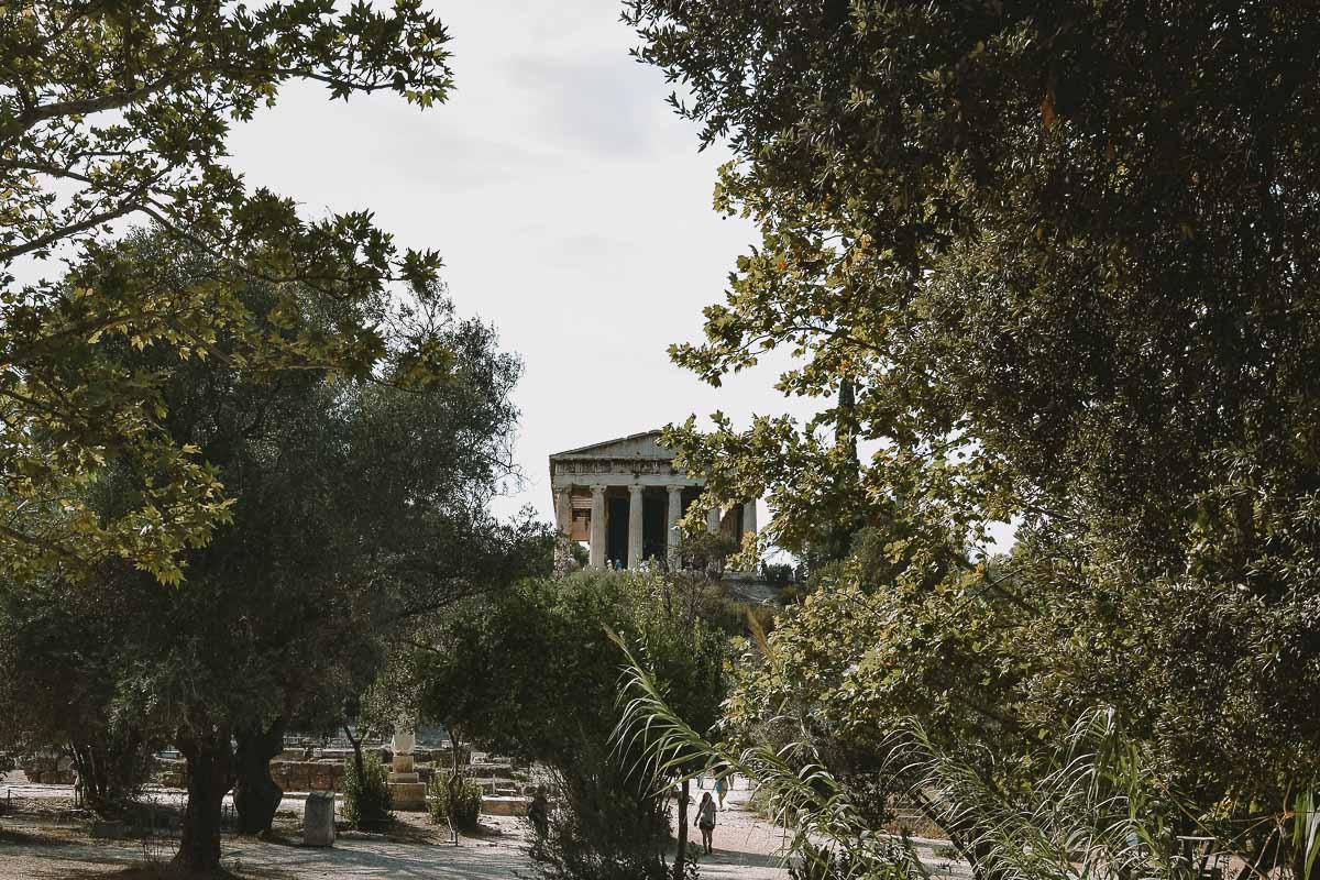 Athen Tempel