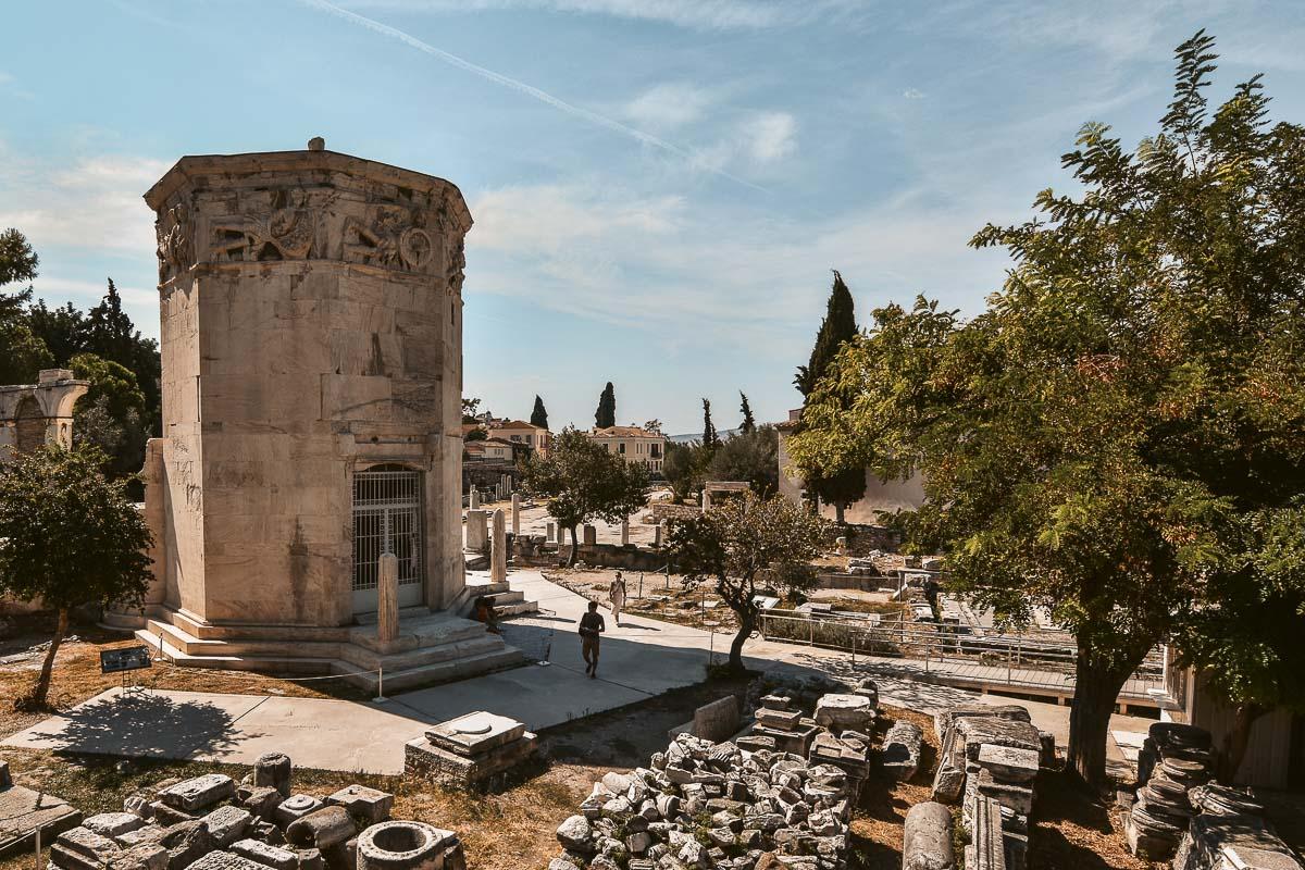 Athen TurmderWinde
