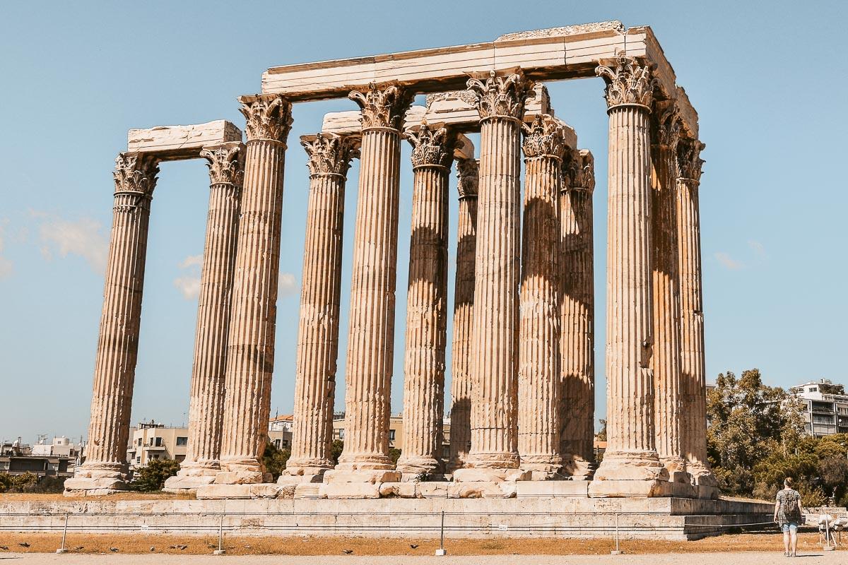 Athen Zeustempel