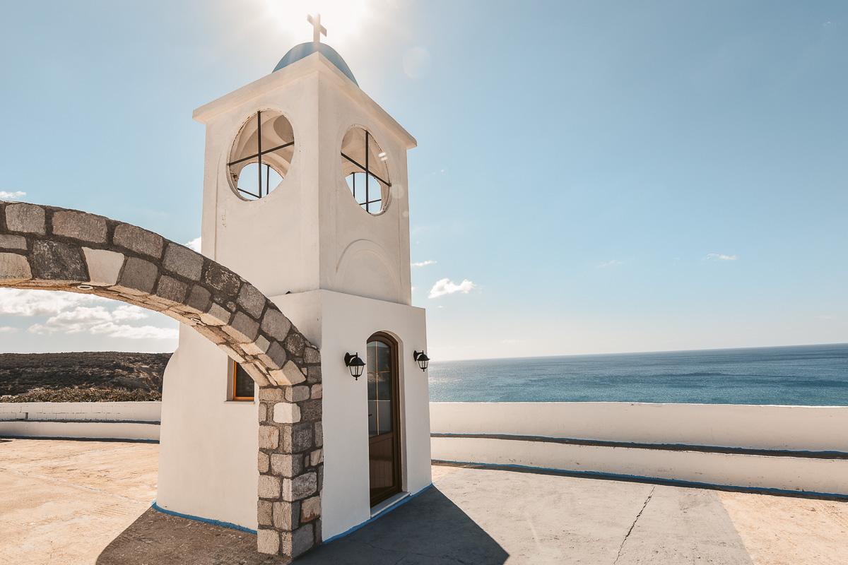 Milos Kirchturm