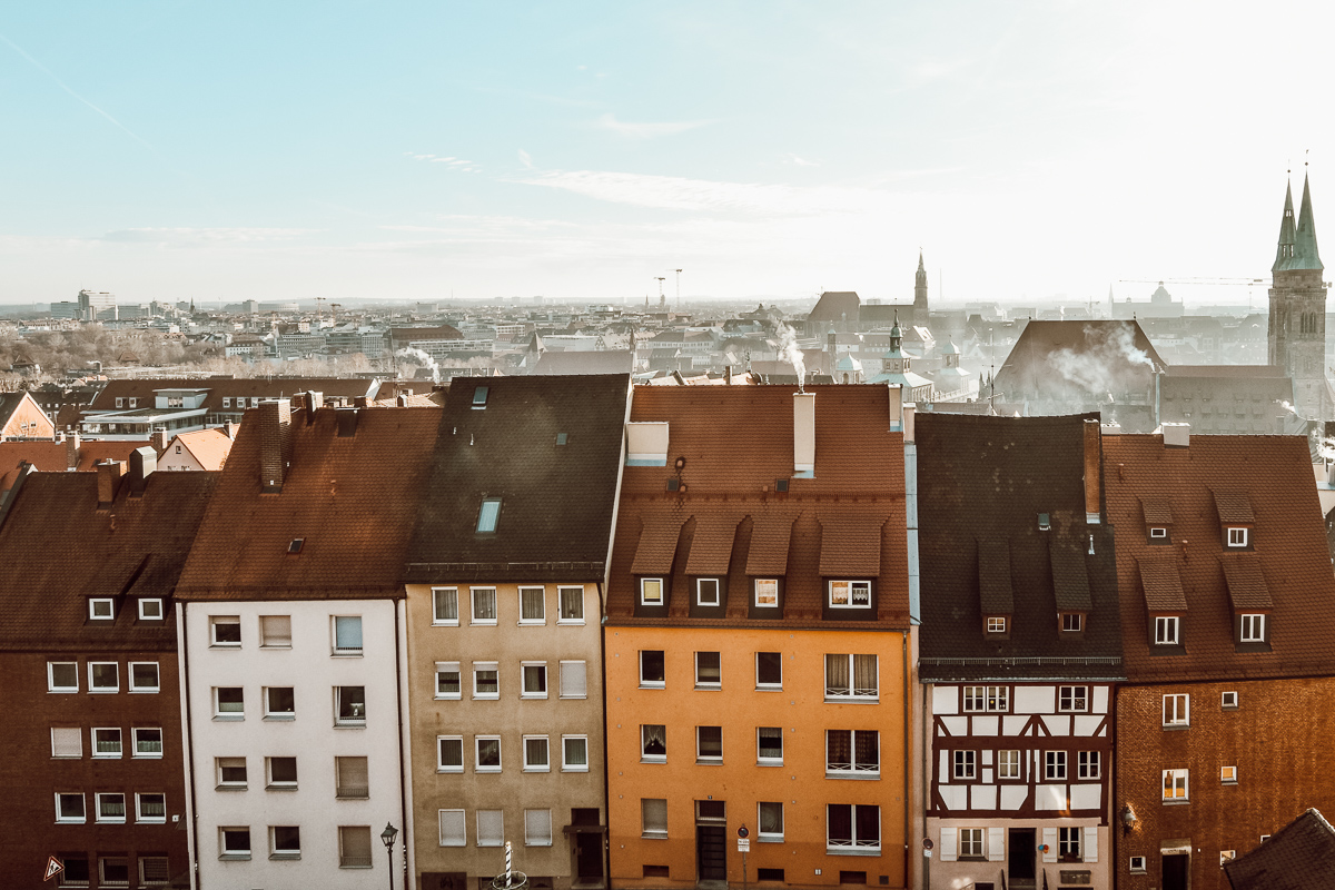 Nürnberg Burgaussicht