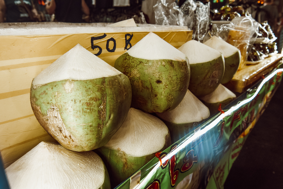 Bangkok Kokosnuss