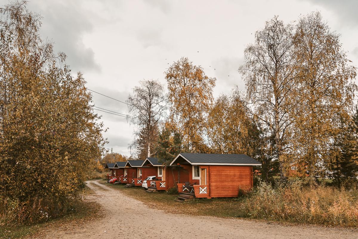 Finnland Hütten