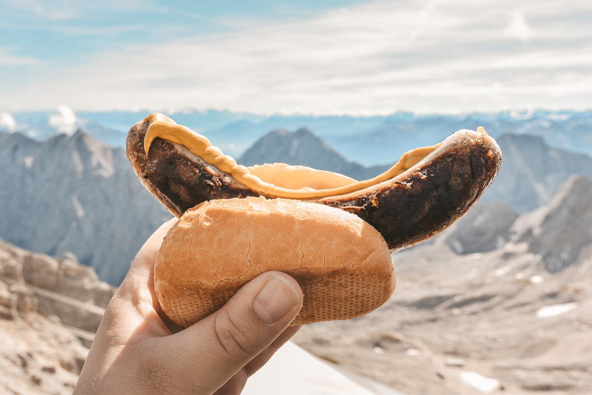Zugspitze Bratwurst