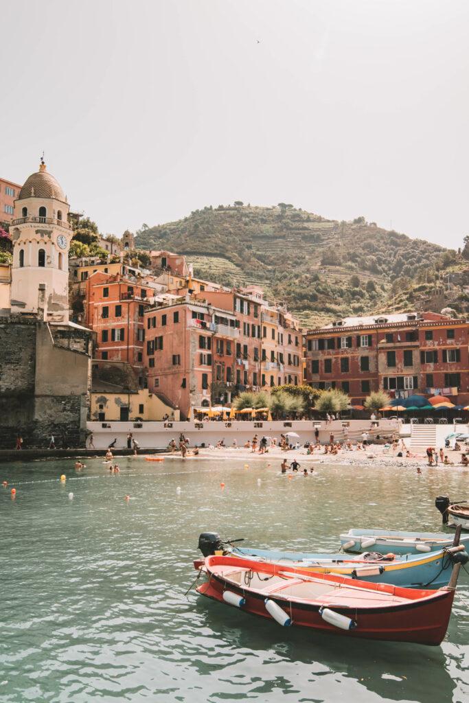 Vernazza-Hafen